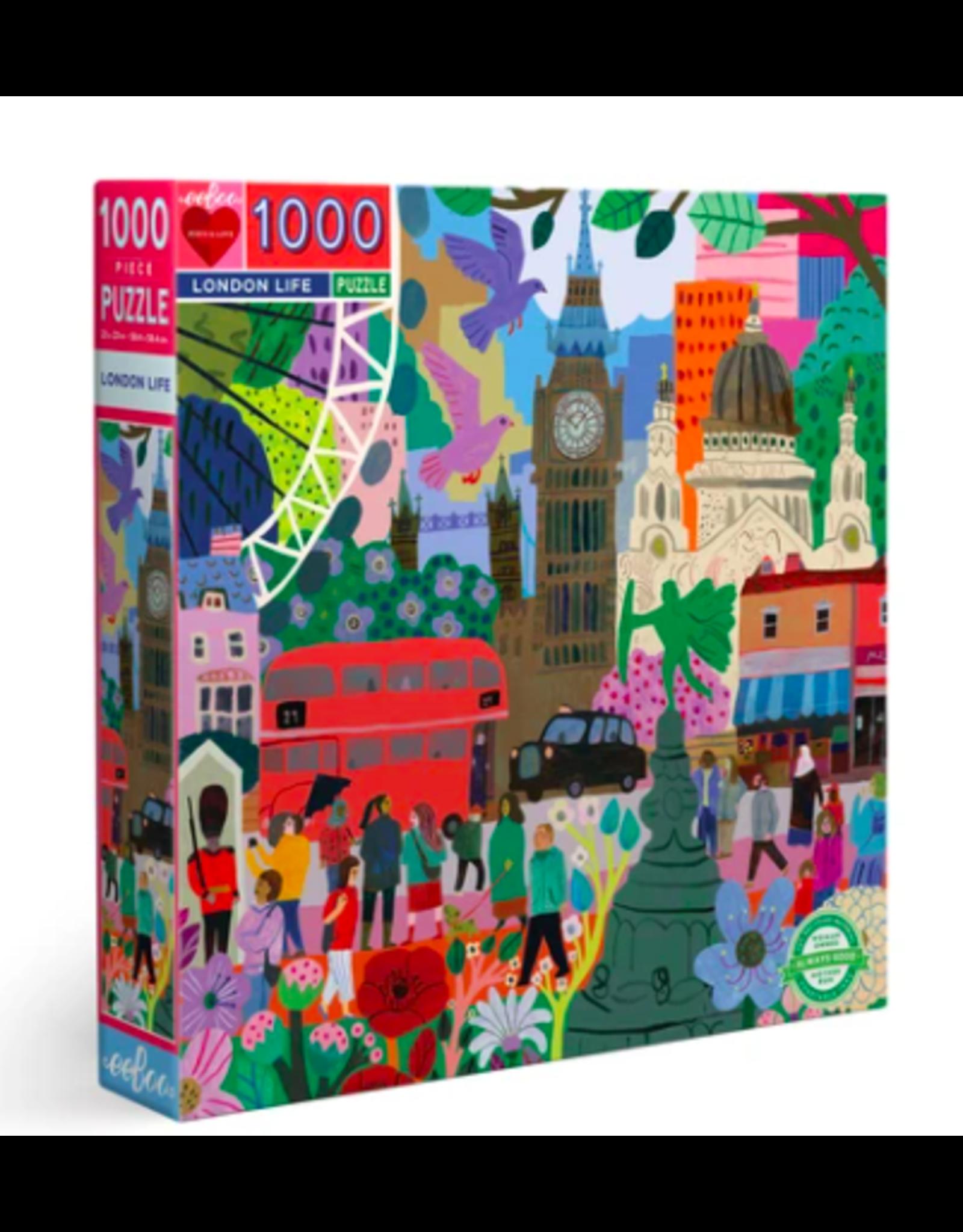 eeBoo London Life Puzzle