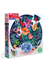 eeBoo Still Life With Flowers Puzzle