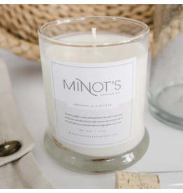 Minot Candles Message in a Bottle Candle by Minot's