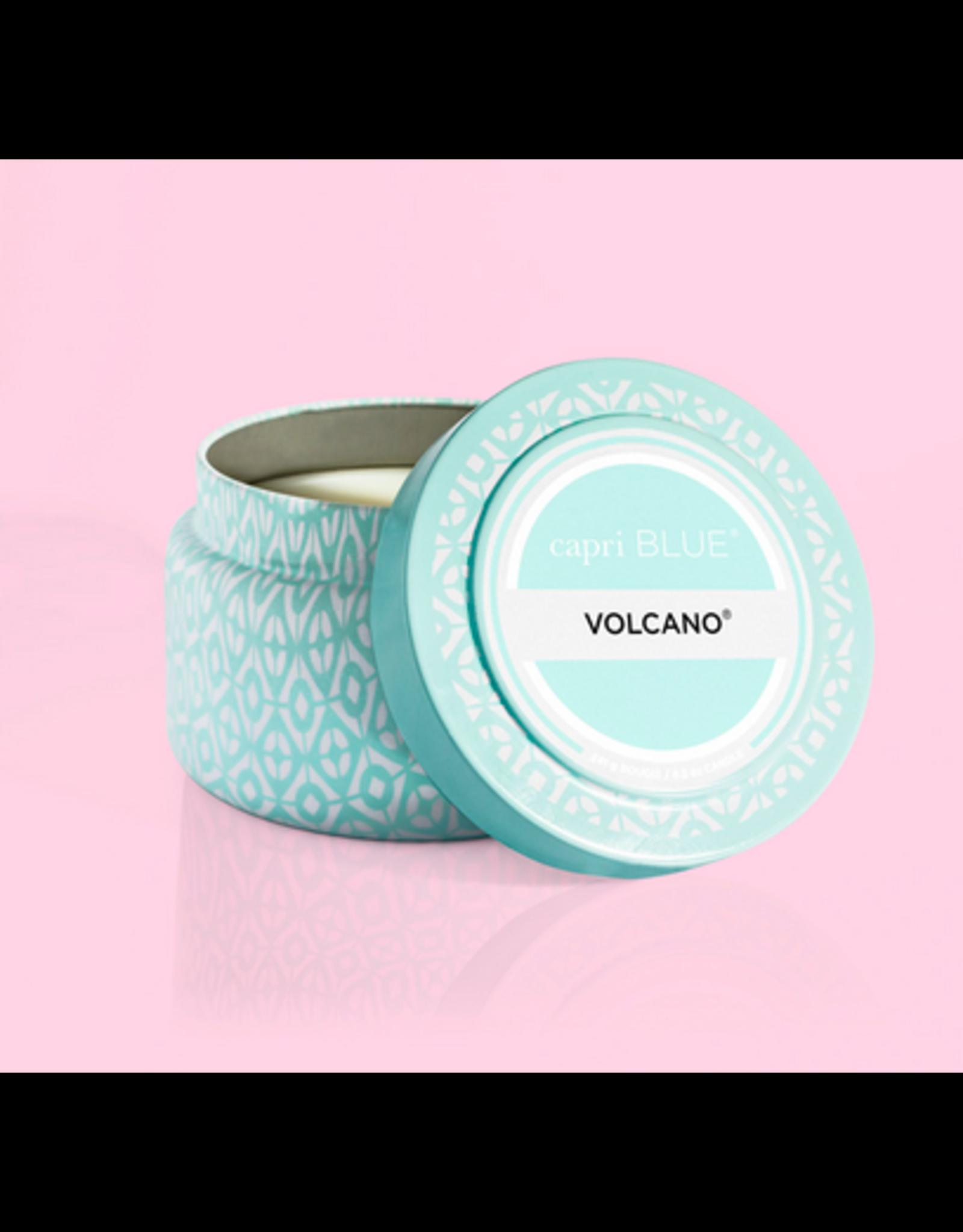 Capri Blue Volcano Aqua Printed Travel Tin
