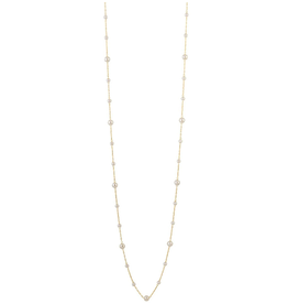 Sahira Jewelry Long Pearl Necklace