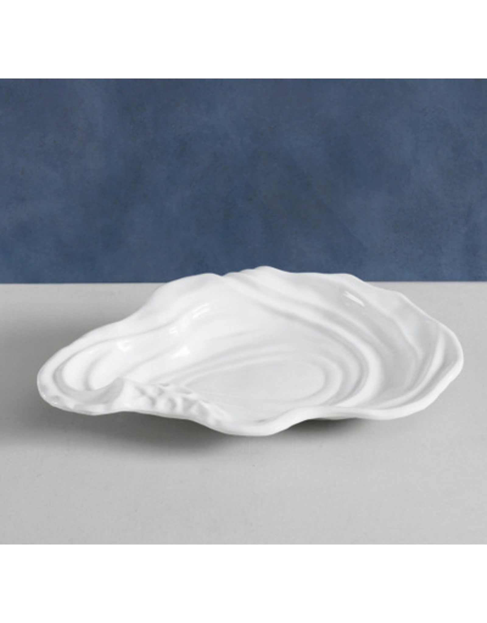 Beatriz Ball Large Ocean Oyster Bowl in White