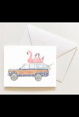 Sara Fitz Check Wagoneer Card  by Sara Fitz