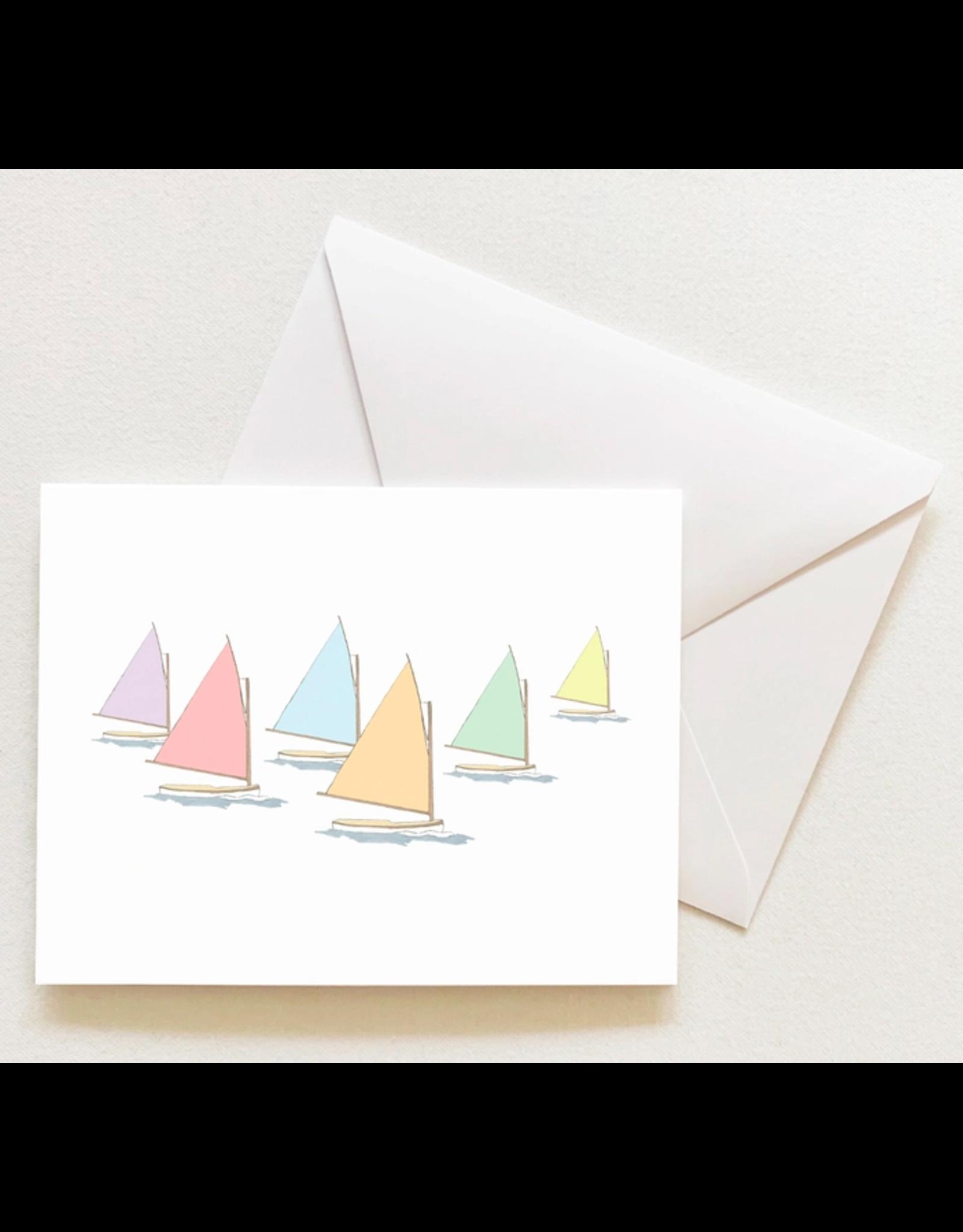 Sara Fitz Rainbow Fleet Card by Sara Fitz