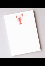Sara Fitz Lobster Notepad by Sara Fitz