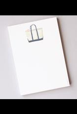 Sara Fitz Canvas Tote Notepad by Sara Fitz