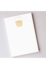 Sara Fitz Nantucket Basket Notepad by Sara Fitz