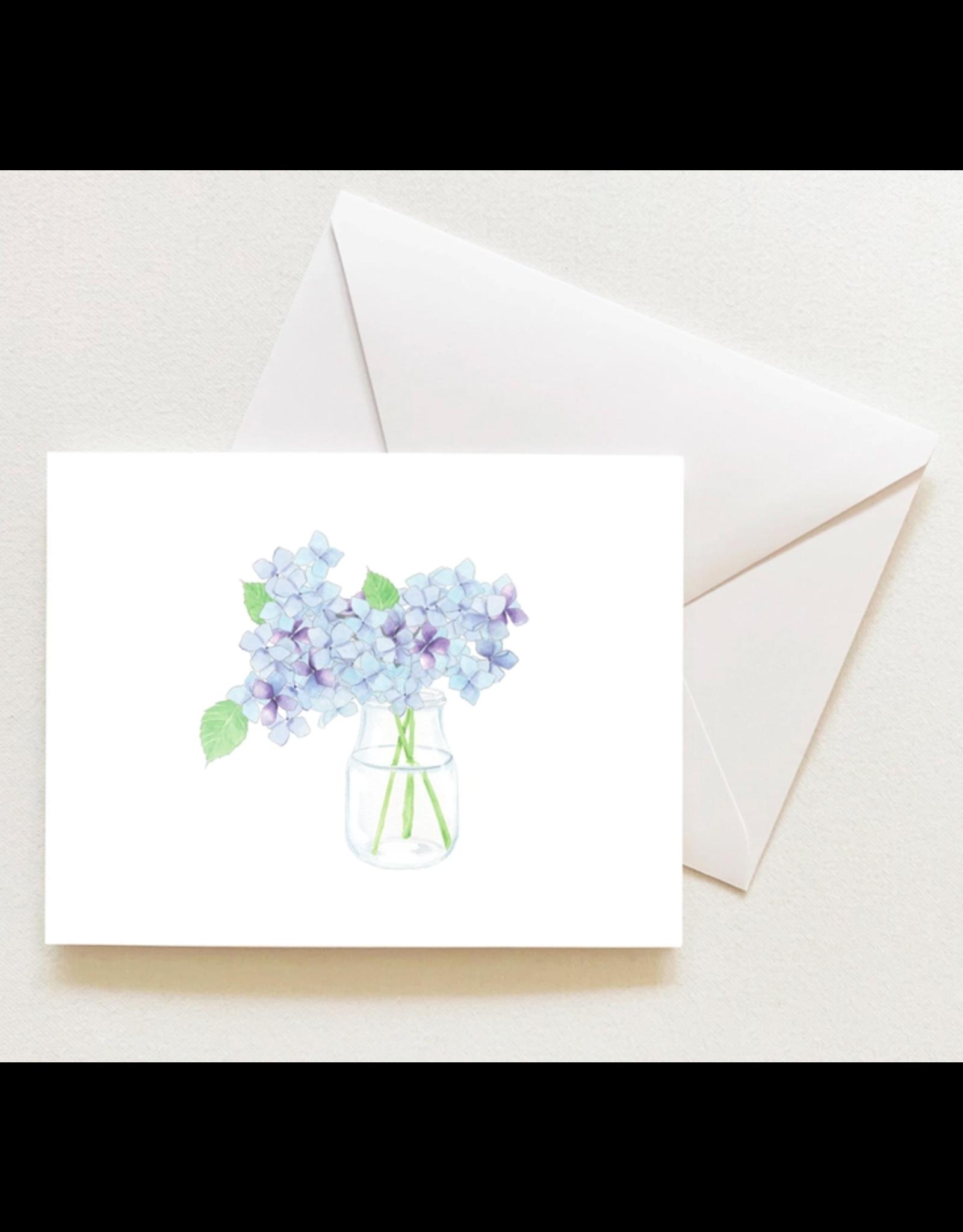 Sara Fitz Hydrangea Boxed Notecards by Sara Fitz