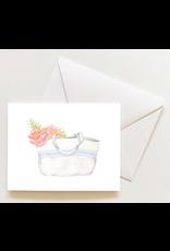 Sara Fitz French Stripe Tote Boxed Notecards by Sara Fitz
