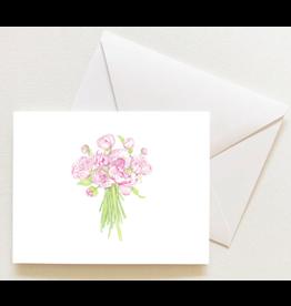 Sara Fitz Peony Notecards by Sara Fitz