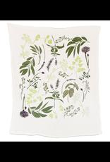 June & December Herb Garden Kitchen Towel