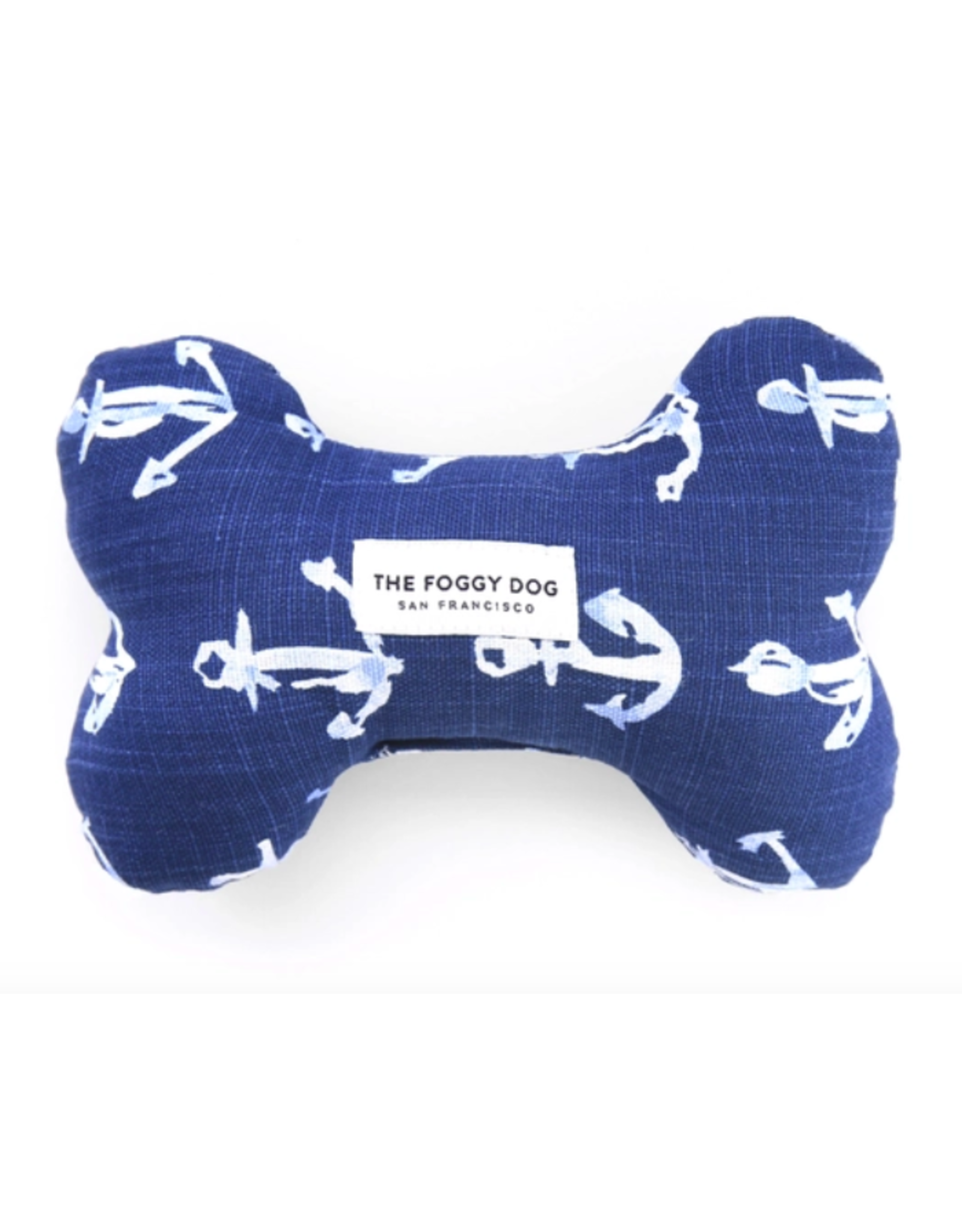 The Foggy Dog Down By The Sea Dog Bone Squeaky Toy