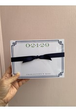 RoseanneBECK Collection 02129 with Border in Navy Notepad