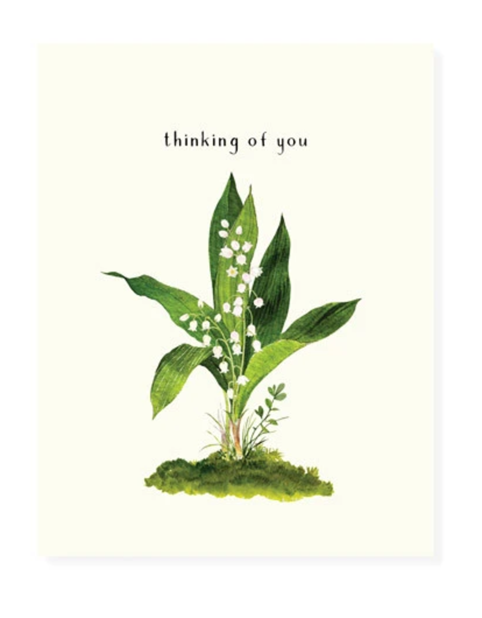 Felix Doolittle Lily of the Valley Card