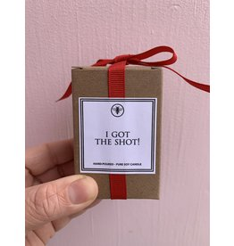 I Got The Shot Candle
