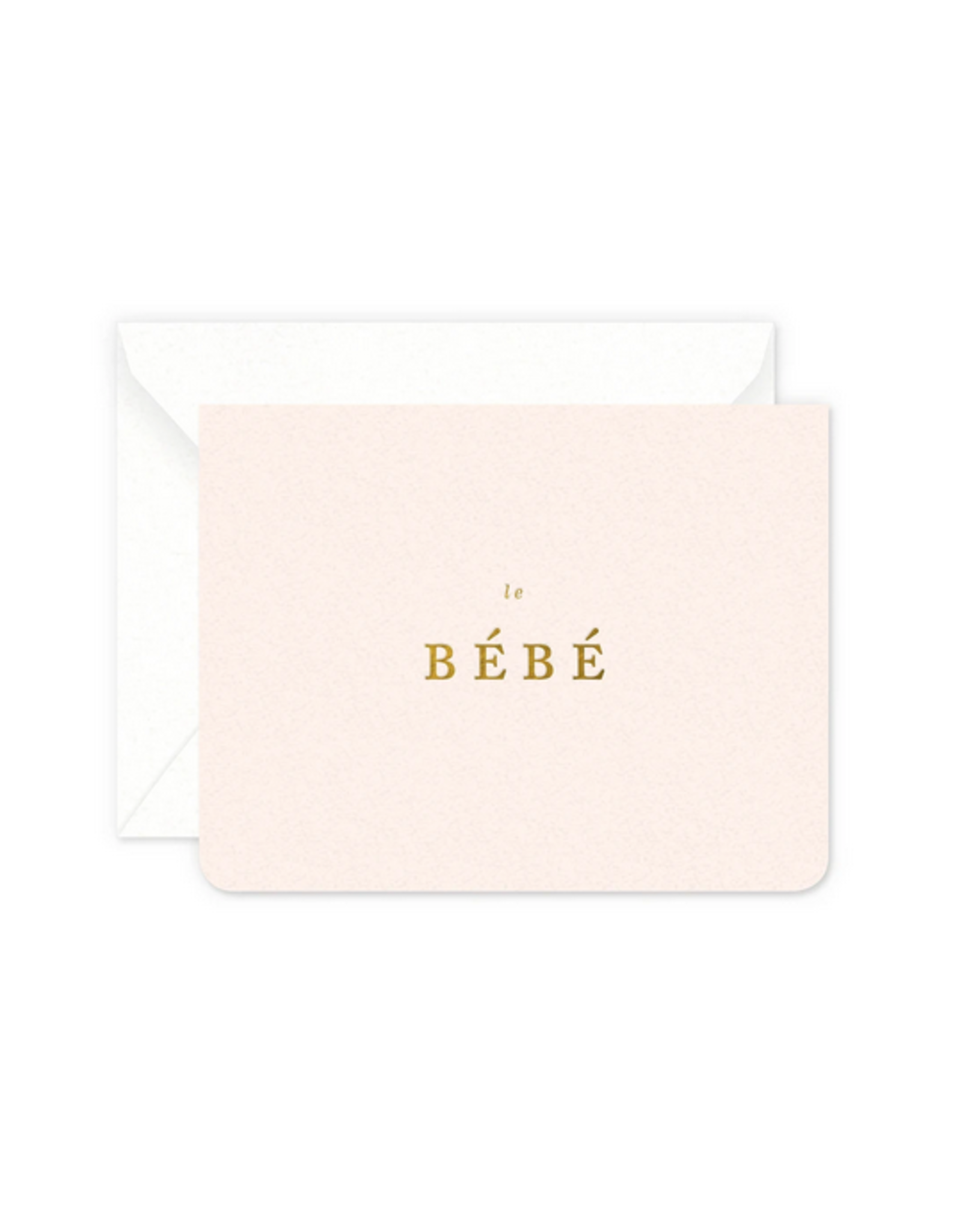 Smitten on Paper Bebe Girl Greeting Card