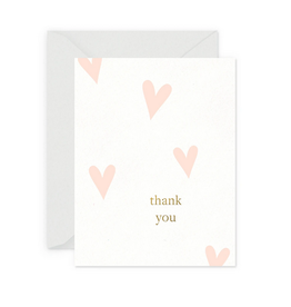 Smitten on Paper Happy Heart Thank You Card