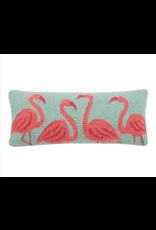 Peking Handicraft Flamingo Beach Hook Pillow