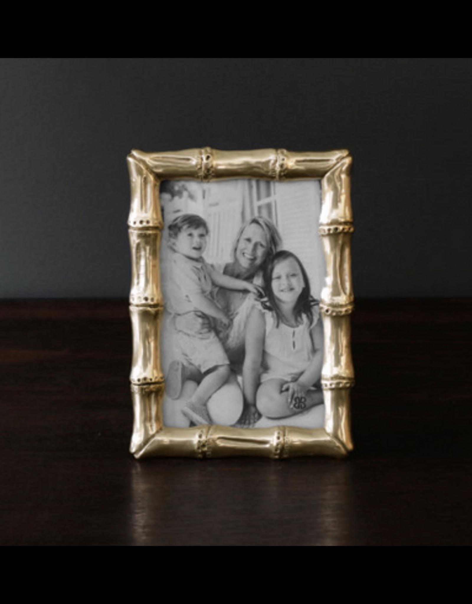 Beatriz Ball Sierra Bamboo Frame Gold 4x6