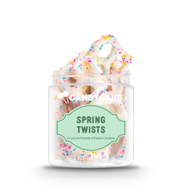 Candy Club Spring Twists Candy Jar