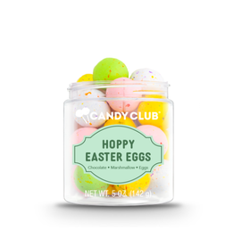 Candy Club Hoppy Easter Eggs Candy Jar