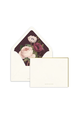 Smitten on Paper Dark Anemone Luxe Lined Note Set