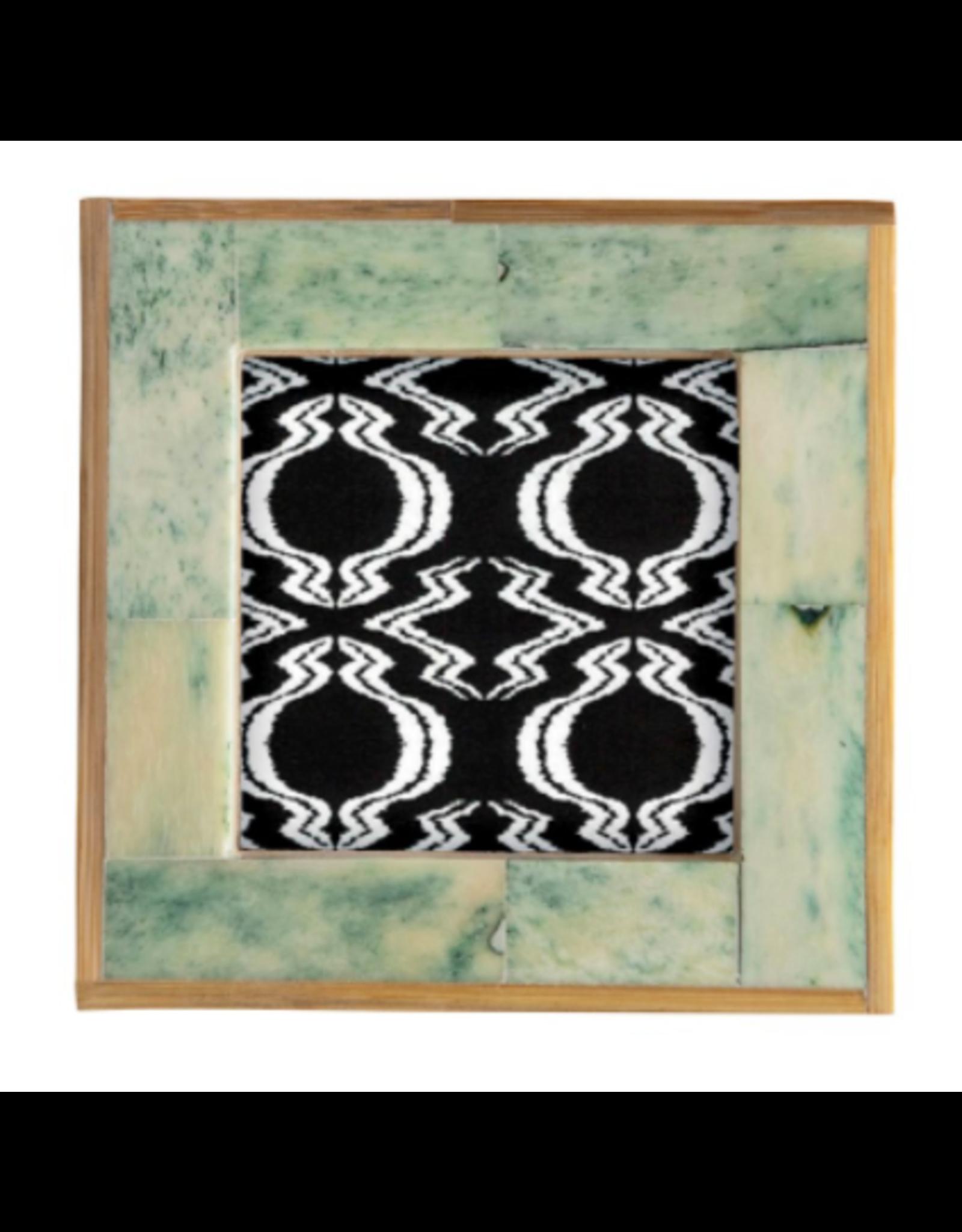 Green Tile Frame 4x4