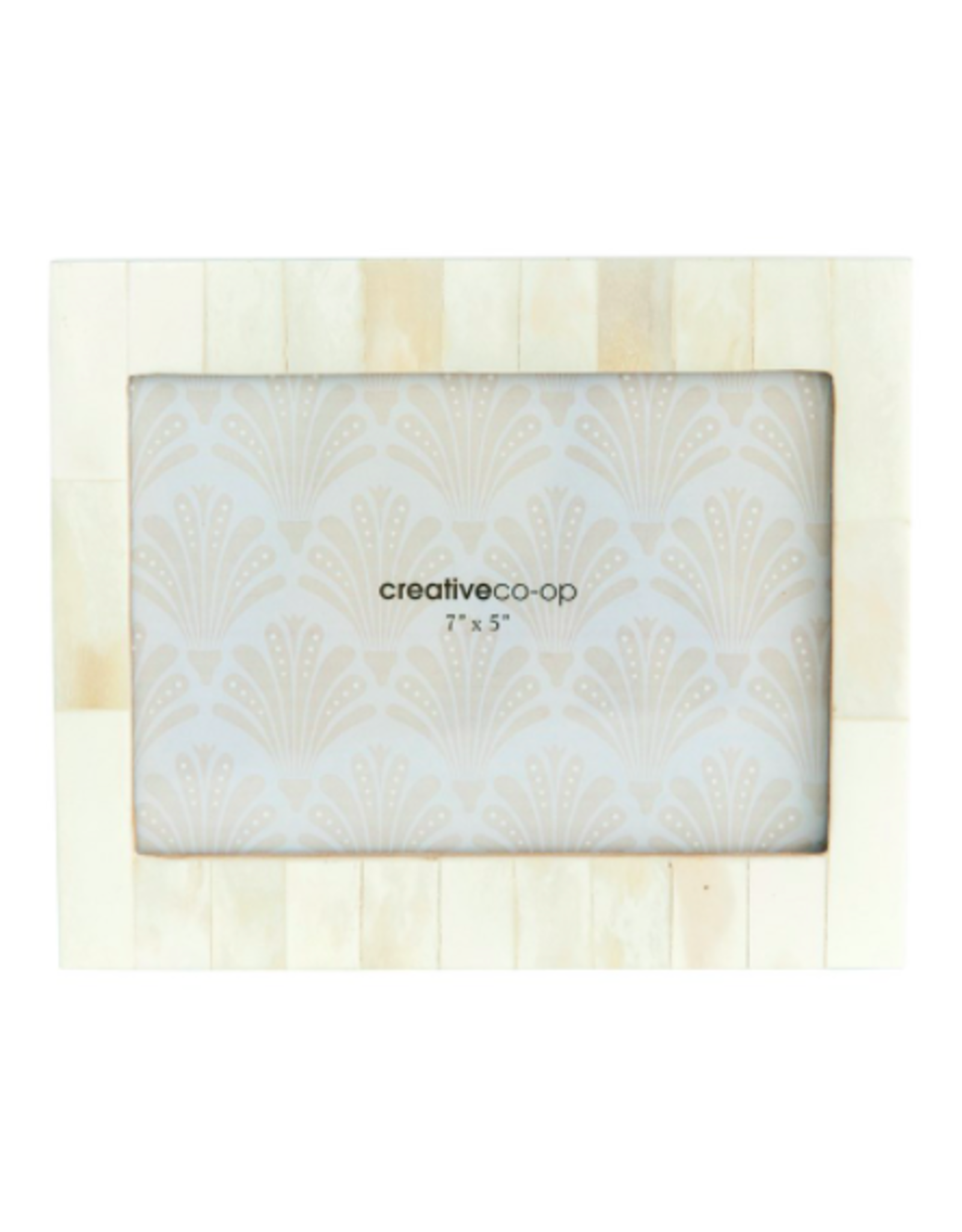 Resin Cream Frame 4x6