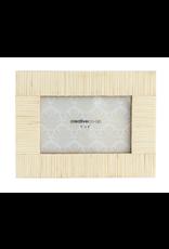 Textured Resin Frame in Cream 4x6
