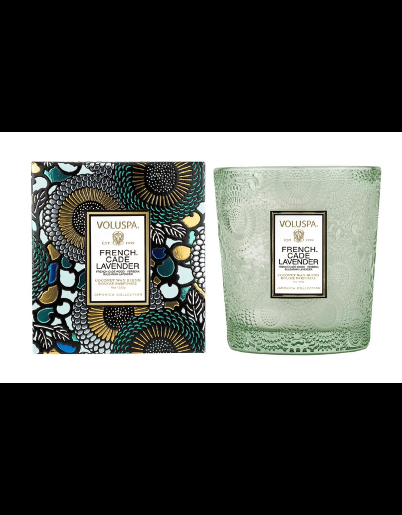 Voluspa French Cade & Lavender Classic Candle