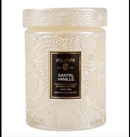 Voluspa Santal Vanille Small Jar Glass Candle