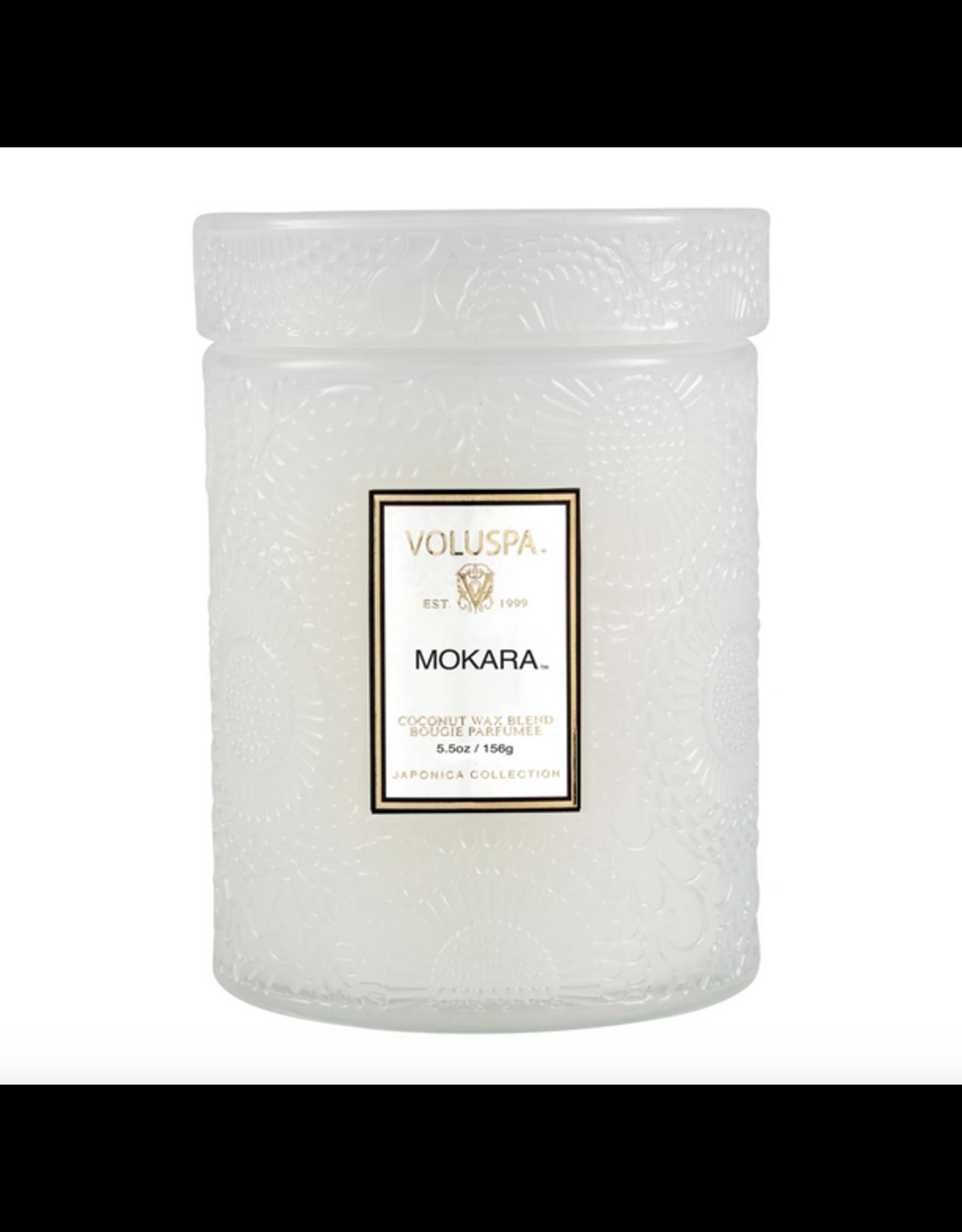 Voluspa Mokara Small Jar Glass Candle