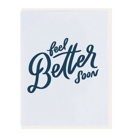 Dahlia Press Feel Better Soon Card
