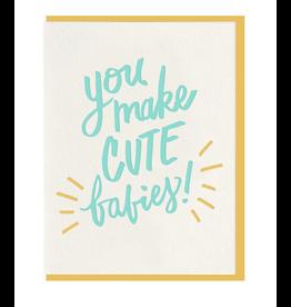 Dahlia Press Cute Babies Card