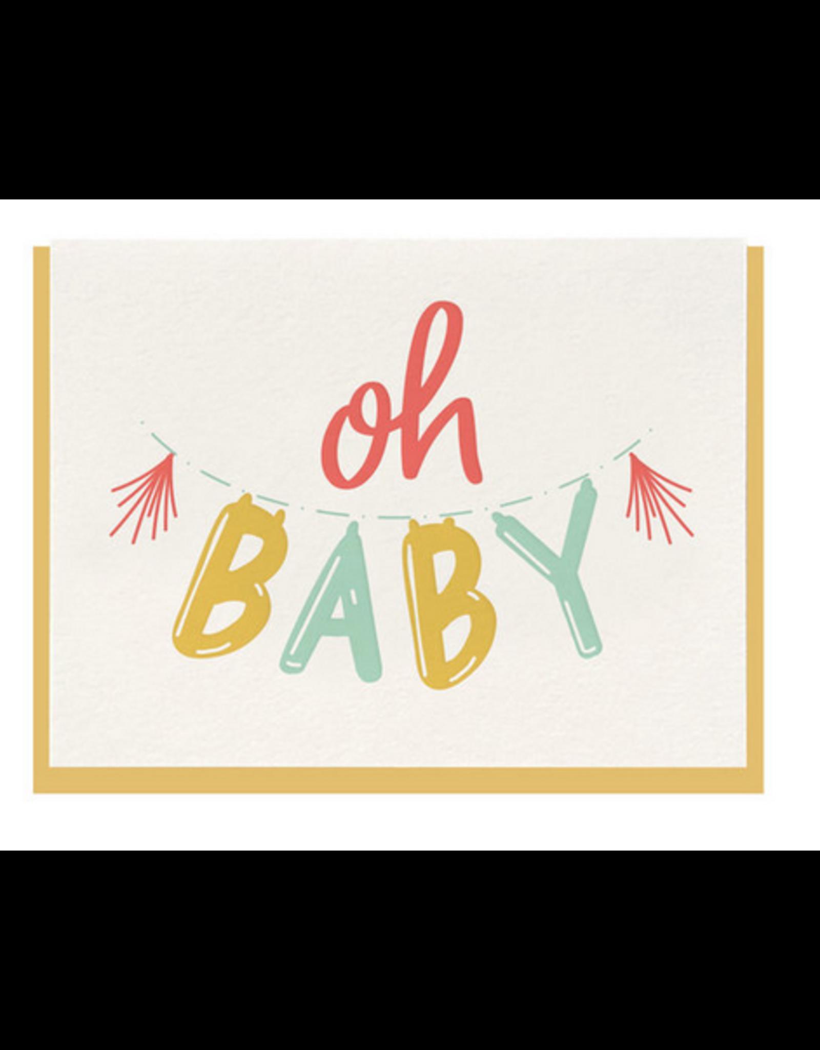 Dahlia Press Oh Baby Card