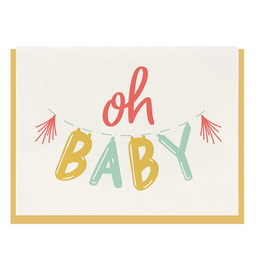 Dahlia Press Oh Baby Card
