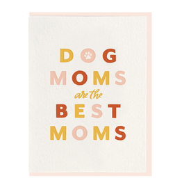 Dahlia Press Dog Mom Card