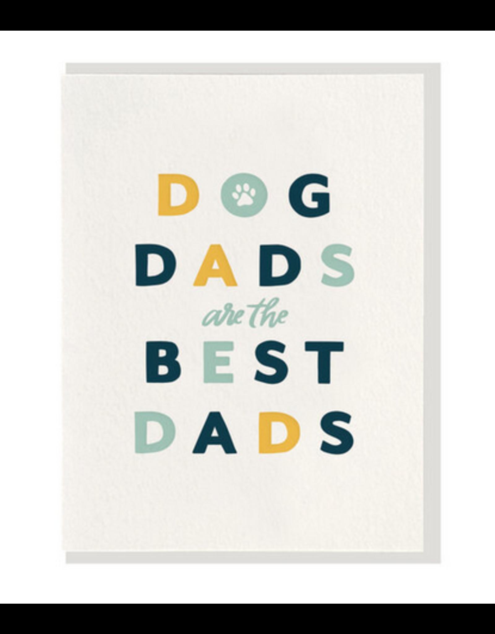 Dahlia Press Dog Dad Card