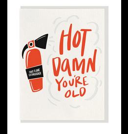 Dahlia Press Hot Damn Birthday Card