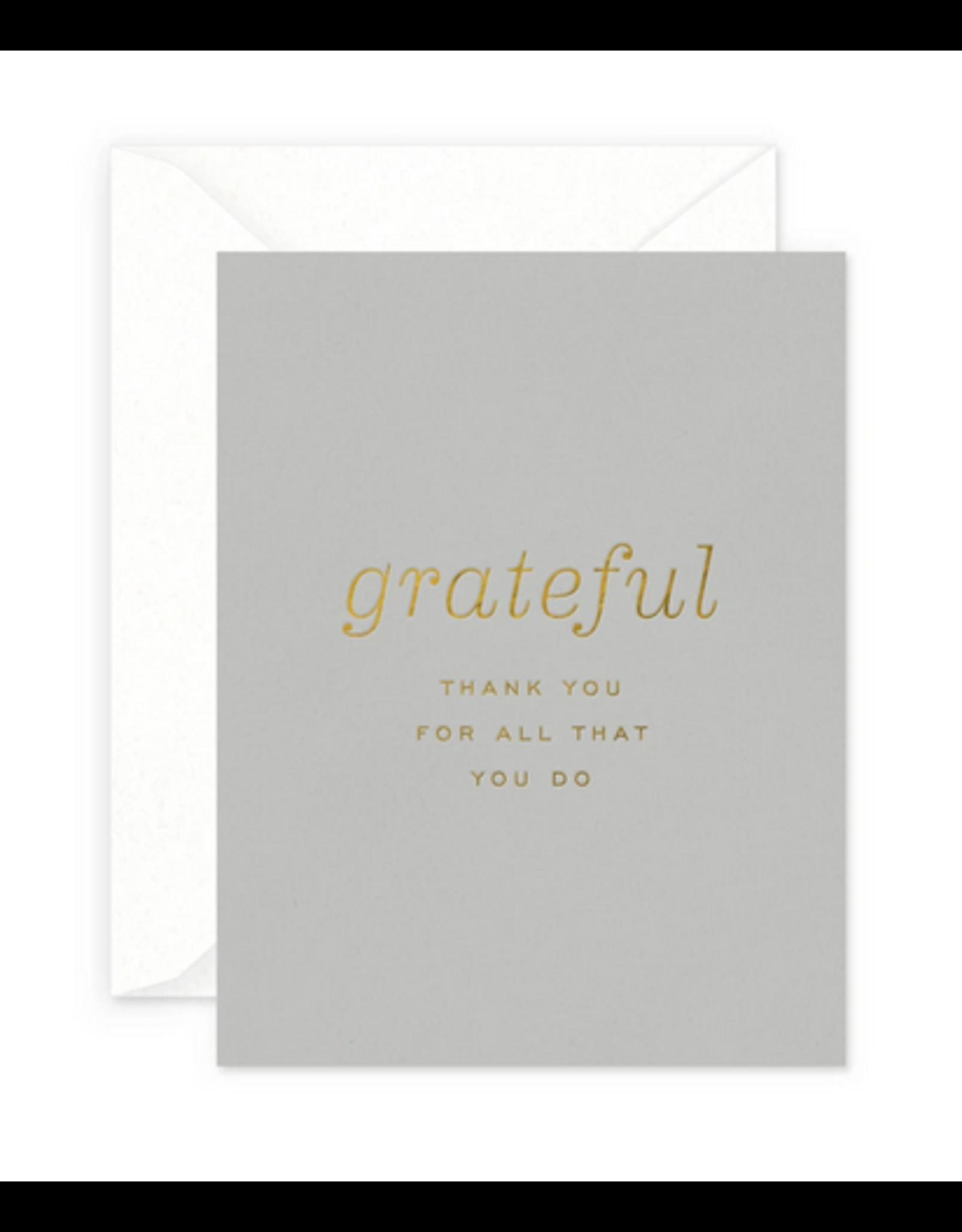 Smitten on Paper Grateful Greeting Card