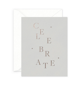 Smitten on Paper Celebrate Greeting Card