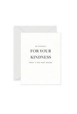 Smitten on Paper Kindness Greeting Card