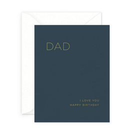 Smitten on Paper Dad Birthday Greeting Card