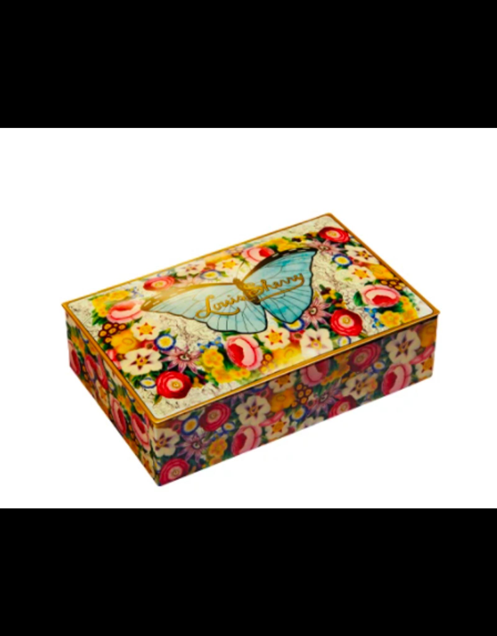 Louis Sherry 12 Piece John Derian Butterfly by Louis Sherry