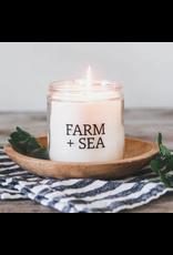 Farm + Sea Cozy Harbor Large Candle by Farm + Sea