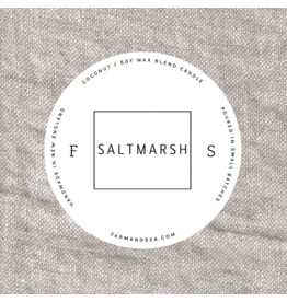 Farm + Sea Saltmarsh Large Candle by Farm + Sea