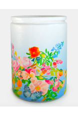 Paint & Petals Hidden Butterfly Glass 13 oz Candle
