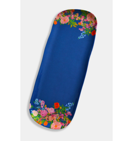 Paint & Petals Appetizer Tray in Galaxy Blue Floral