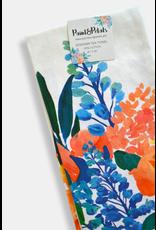 Paint & Petals Pacific Blue Tea Towel