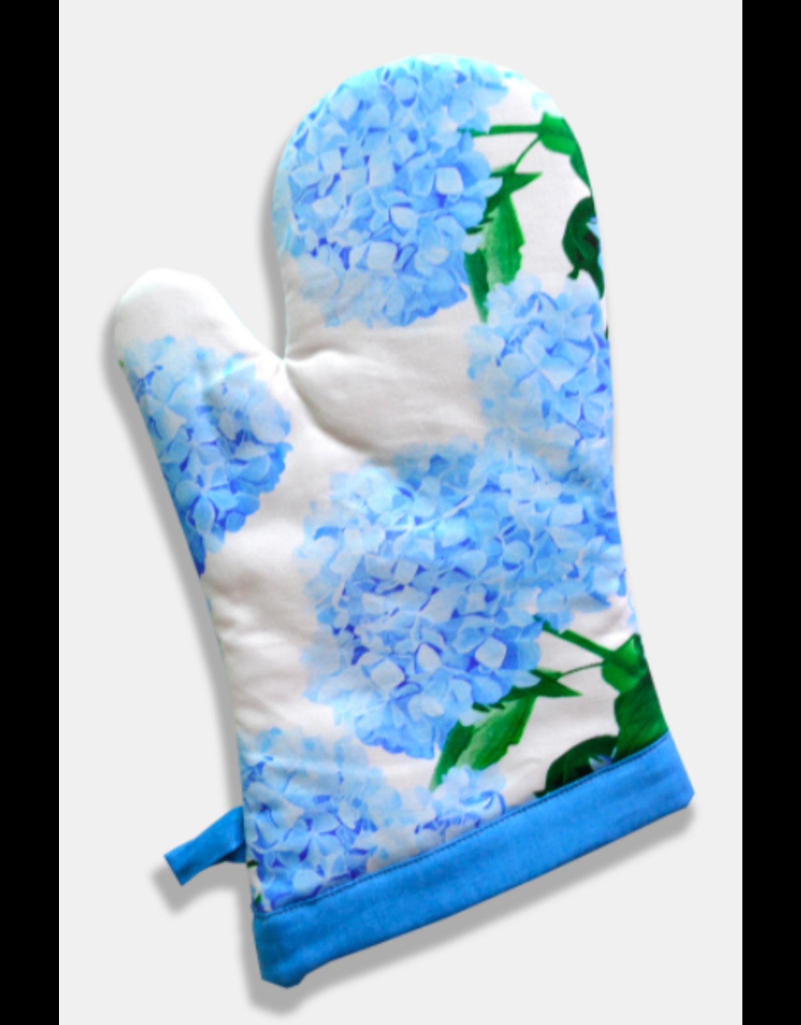 Paint & Petals Hydrangea Oven Mitt